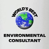 World's Best Environmental Consultant Drinking Gla