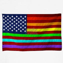 (LGBT) Gay Rainbow Pride Flag - T-Shirt