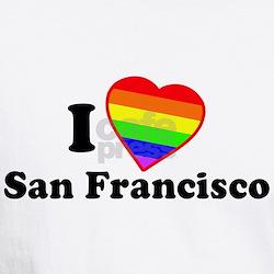 I Love [Heart] San Francisco Shirt