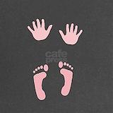 Maternity foot and handprints Maternity