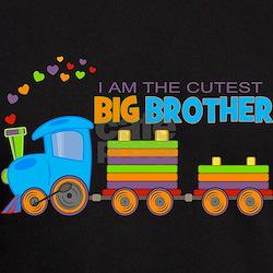 I am the Cutest Big Brother - Train T-Shirt