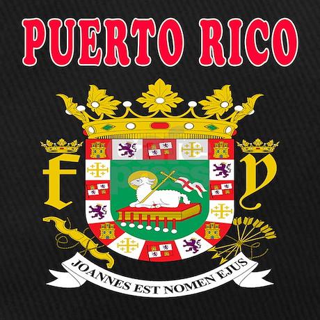 puerto rico coat of arms designs baseball hat by majortees