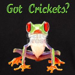 Red Eyed Tree Frog Black T-Shirt