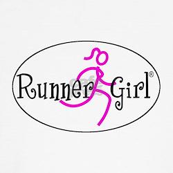 Run Like A Girl Kids T-Shirt