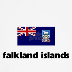 I HEART FALKLAND ISLANDS FLAG Shirt