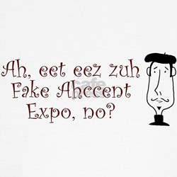 Fake Accent Expo Tee