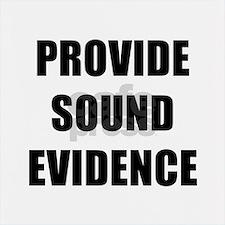 PROVIDE SOUND EVIDENCE