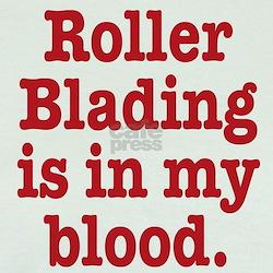 Funny Roller blading T