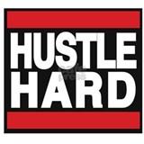 hustle hard red Mug