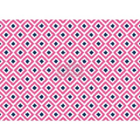 pink and navy blue ikat diamonds 5 39 x7 39 area rug by mcornwallshop. Black Bedroom Furniture Sets. Home Design Ideas