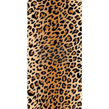 leopard print beach towel by bestgear