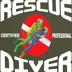 Rescue SCUBA Diver T-Shirt