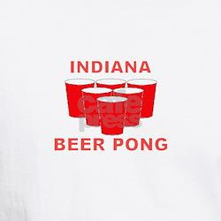 Indiana Beer Pong Shirt