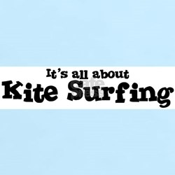 All about Kite Surfing Women's Pink T-Shirt
