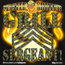 """Grill Sergeant!"" T-Shirt"