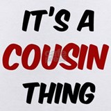 It\'s a cousin thing Baby Bodysuits