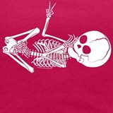 Skeleton baby Tank Tops