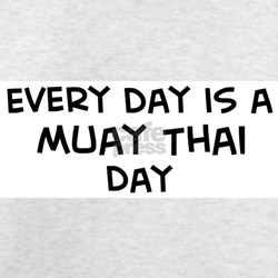 Muay Thai day Ash Grey T-Shirt