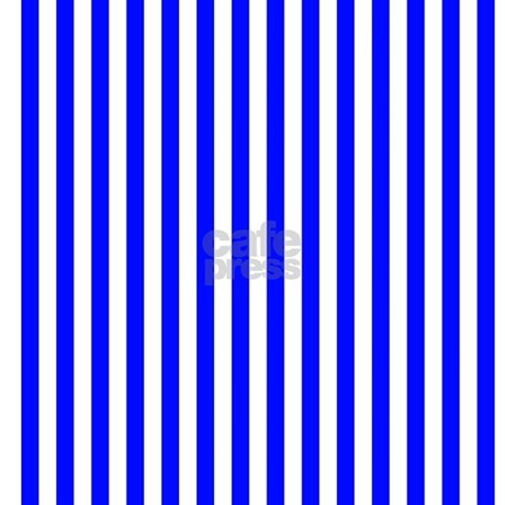blue and white striped pattern shower curtain by