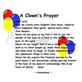 A Clown's Prayer Mug