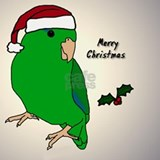 ornament_parrotlet_greenmale Shot Glass