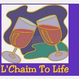 LChaim TO Life Shot Glass