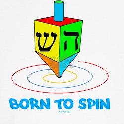 Born to Spin flat Tee