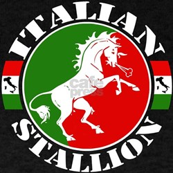 Black Italian Stallion T-Shirt