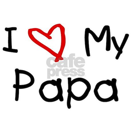 I love my papa! - imikimi.com