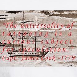 Captain James Cook 1779 White T-shirt