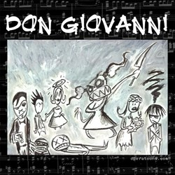 Don Giovanni black & white Shirt