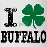Buffalo Irish Drinking Glass