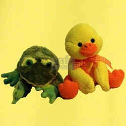 Frog and Ducky friends T