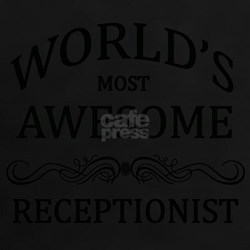 World's Most Awesome Receptionist Tee