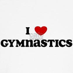 I Love Gymnastics Kids T-Shirt
