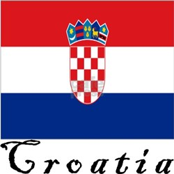 Croatia Ash Grey T-Shirt