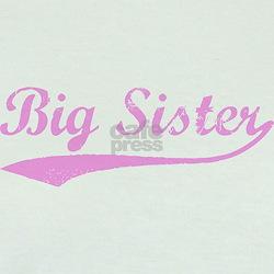 Vintage (Pink) Big Sister T
