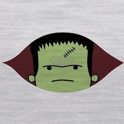 Peeking Frankenstein Maternity Tank Top