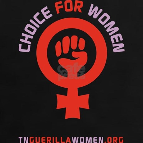 Pro Choice for Women Logo 2 Tee by tnguerillawomen