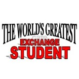 """The World's Greatest Exchange Student"" Mug"