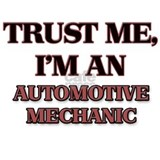 Trust Me, I'm an Automotive Mechanic Water Bottle
