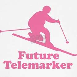 Pink Future Telemarker Kids T-Shirt
