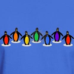 Rainbow Pride Penguins T-Shirt
