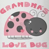 Grandma's Love Bug Drinking Glass