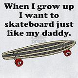Baby skateboard Bib