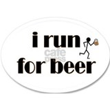 i run for beer Mug