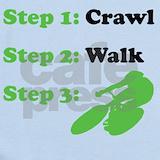Crawl walk bike Baby Bodysuits