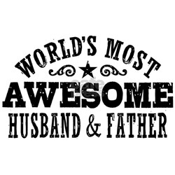 Awesome Husband And Father Shirt