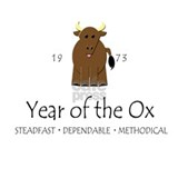 """Year of the Ox"" [1973] Mug"