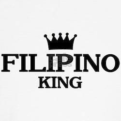 filipino King Kids T-Shirt